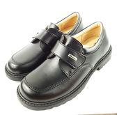台灣製 手工真皮學生皮鞋《7+1童鞋》A359黑色