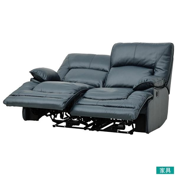 ◎半皮2人用電動可躺式沙發 HIT NV NITORI宜得利家居