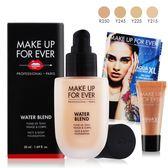 MAKE UP FOR EVER 恆久親膚雙用水粉霜50ml#Y215+眼彩霜-霓光粉膚1.3ml