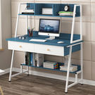 組合書架電腦桌100CM 台式電腦桌 附書架電腦桌 辦公桌 筆電桌 書桌《生活美學》