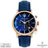 【台南 時代鐘錶 MASERATI】台灣公司貨 瑪莎拉蒂 EPOCA系列 R8871618007 計時腕錶