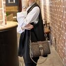 手提包 小眾設計女側背包 2020新款小CK百搭斜挎包 鏈條小方包手提單肩包 店慶降價