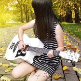 38寸民謠指彈木吉他女生初學者新手練習學生入門jita樂器吉他38寸