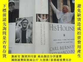 二手書博民逛書店his罕見holiness: john paul ii and the hidden history of our