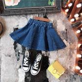 兒童短裙夏季小孩中小童半身裙女童裝寶寶牛仔裙子 全館免運
