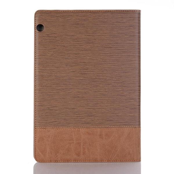 華為 MediaPad M3 M5 Lite LTE 8.4 10.1 10.8 保護套樹皮紋拼接翻蓋皮套平板套平板支架