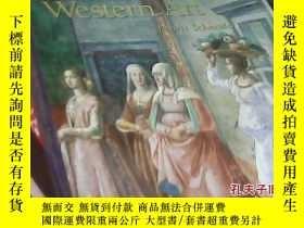二手書博民逛書店a罕見history of western art 西方藝術史