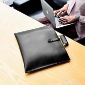 公事包女2019新款手提商務包A4平板電腦包大容量韓版公文包職業女包cp182【野之旅】