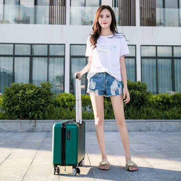 卡通拉桿箱18寸16登機箱密碼旅行箱學生輕便小型行李箱女20韓版潮 居享優品