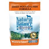 【寵物王國】Natural Balance-NB低敏無穀地瓜鮭魚全犬配方4.5磅【中大型犬】