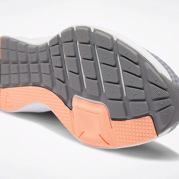 REEBOK ENDLESS ROAD WOMEN'S RUNNING 女鞋 慢跑 訓練 輕量 支撐 透氣 灰 橘【運動世界】DV6198