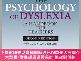 二手書博民逛書店預訂The罕見Psychology Of Dyslexia - A Handbook For Teachers -