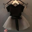 女童裝 女童短袖 紗裙套裝夏裝新款201...