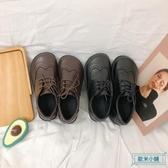 大頭鞋 ins小皮鞋女英倫學院風2019新款春季日系原宿軟妹大頭娃娃單鞋子