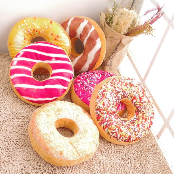 甜甜圈坐墊 仿真坐墊 抱枕 (現貨+預購)《生活美學》