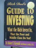 【書寶二手書T1/投資_PHY】Rich Dad s Guide to Investing_Robert T. Kiyosaki
