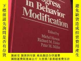二手書博民逛書店Progress罕見in Behavior Modification (Volume 27)1991Y2487