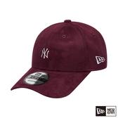 NEW ERA 9FORTY 940 類麂皮 MINI LOGO 洋基 紫紅色 棒球帽