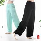 宏極太極褲夏季寬鬆太極服裝練功褲男女家居功夫瑜伽燈籠長褲10色