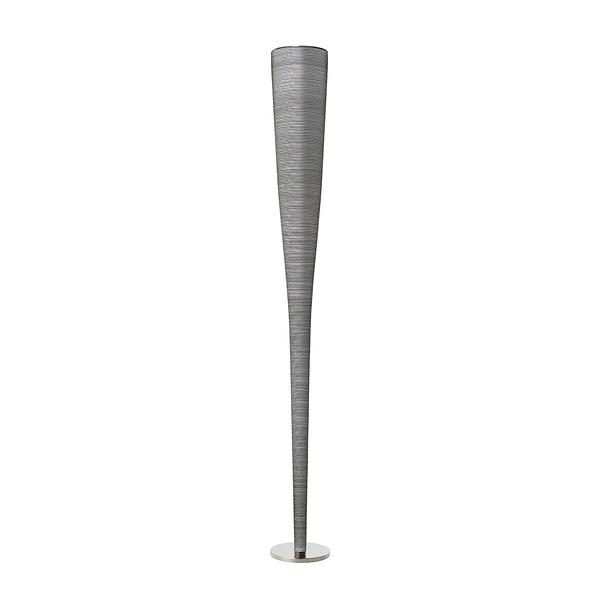 義大利 Foscarini Mite Floor Lamp 線影系列 玻璃纖維 細長 立燈(黑色)