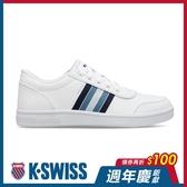 【超取】K-SWISS Court Clarkson S時尚運動鞋-男-白/藍