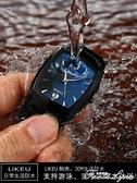 手錶男士防水鎢鋼色時尚商務大氣潮男錶學生男款非機械錶腕錶 范思蓮恩