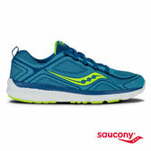 SAUCONY WEB 運動休閒鞋-藍x綠