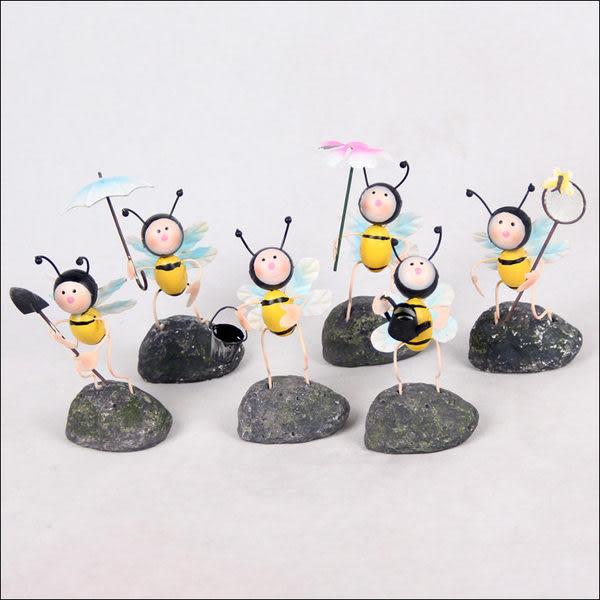 小蜜蜂 鐵工藝品 2個/組