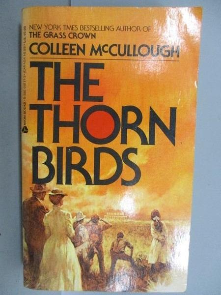 【書寶二手書T9/原文小說_NCK】The Thorn Birds_Colleen McCullough