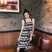 夏季溫柔風吊帶裙女夏外穿小清新連衣裙
