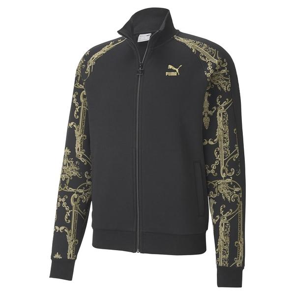 PUMA Nuluxe 瘦子代言著用款男款黑色立領外套-NO.53031001