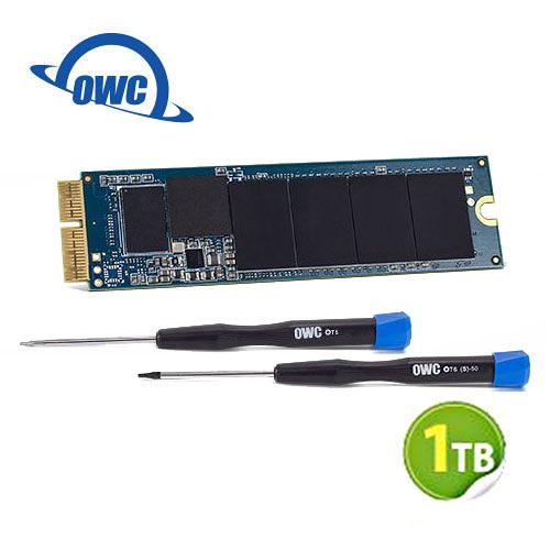 OWC Aura N 1.0TB NVMe 適用於Mac mini SSD 升級套件 含工具及組件 (OWCS3DAB2MM10K)