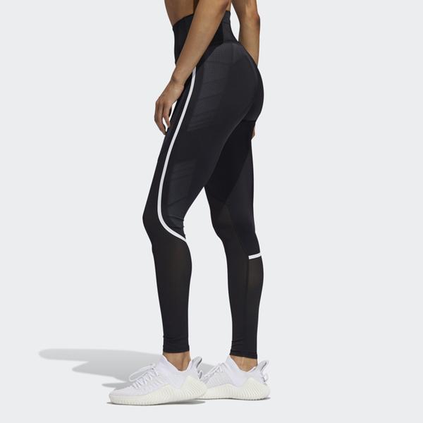 ADIDAS BELIEVE THIS 女裝 長褲 緊身 訓練 健身 透氣 張鈞甯穿搭 黑【運動世界】EA3246