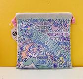 【震撼精品百貨】The Little Mermaid Ariel_小美人魚愛麗兒~縮口束口袋-美人魚藍#30262