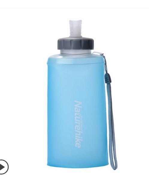折疊杯 NH硅膠水杯折疊水壺 戶外運動大容量便攜軟水袋騎行登山飲水水壺