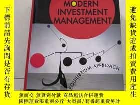二手書博民逛書店Modern罕見Investment Management :