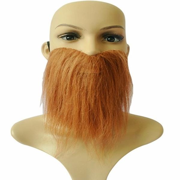 【塔克】假鬍子 假鬍鬚 仿真 全面罩 鬍鬚大鬍子(三色) 假鬍子 萬聖節/派對/服裝/角色扮演/變裝