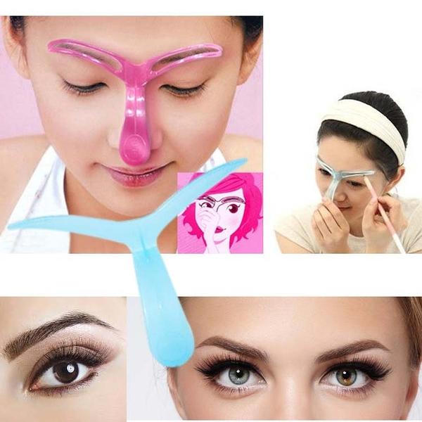 美容用品【FMD065】美妝眉卡畫眉輔助器 美妝 眼影 眉毛 美容 化妝品 眉卡 眉筆-123ok