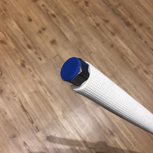【麗室衛浴】高品質含保溫白鐵波浪螺紋軟管 衛浴軟管 大流量不鏽鋼軟管 不鏽鋼波紋軟管