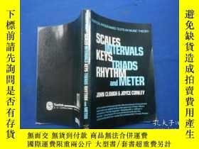 二手書博民逛書店Scales罕見Intervals Keys Triads Rh