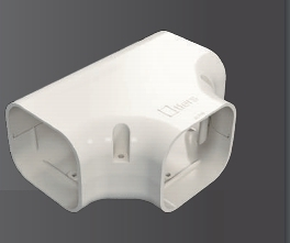 ACT-120  T型接頭  冷氣安裝  管槽  空調配管裝飾罩