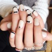 法式銀蔥指甲貼片 銀色閃粉  時尚凝膠美甲貼    SQ9623『伊人雅舍』