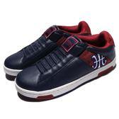Royal Elastics 休閒鞋 Icon Alpha 藍 紅 白底 刺繡設計 無鞋帶設計 皮革鞋面 男鞋【PUMP306】 02074515