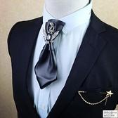 高端PU皮多層復古英倫領結男女通用領結領花襯衫配飾 怦然心動