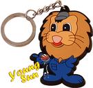 宣傳利器造型鑰匙圈 客製化鑰匙圈 送禮好物 婚禮小物 個性鑰匙圈 廣告文宣  獅子王.