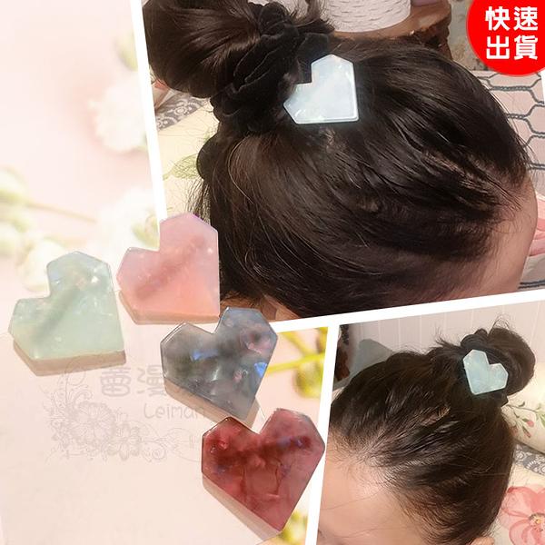 現貨-甜美愛心髮夾 合金鴨嘴夾 瀏海夾 髮飾 頭飾【J021】『蕾漫家』