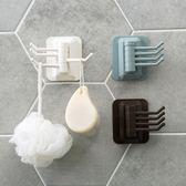【TT】旋轉掛鈎強力粘膠毛巾掛架 浴室牆壁置物架免打孔無痕粘鈎