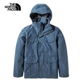 The North Face 男 防水透氣衝鋒外套 藍 NF0A4979N4L【GO WILD】