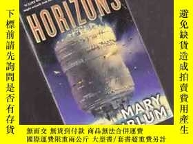 二手書博民逛書店HORIZONS:MARY罕見ROSENBLUM【444】Y10