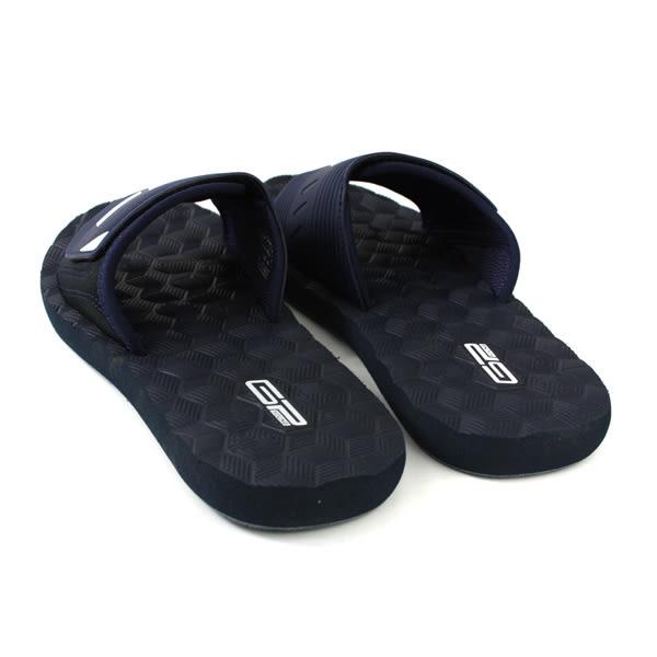 GP (Gold.Pigon) 阿亮代言 拖鞋 戶外 深藍色 男鞋 Y9009M-20 no187